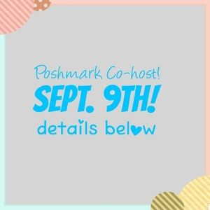 *EDIT SEPT 6TH! Poshmark Party Co-Host!